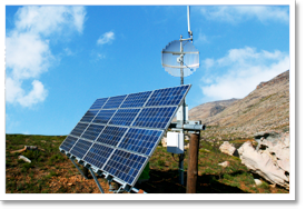 Electrification solaire site isolé telecom