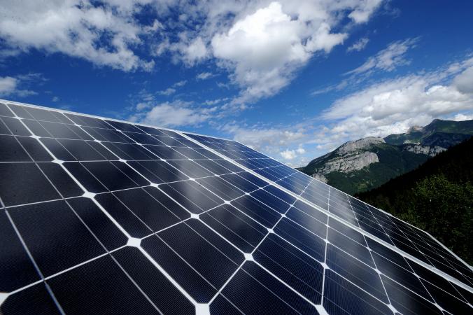 Panneau solaire alpage