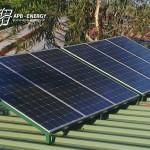 Installation panneaux solaires Comores