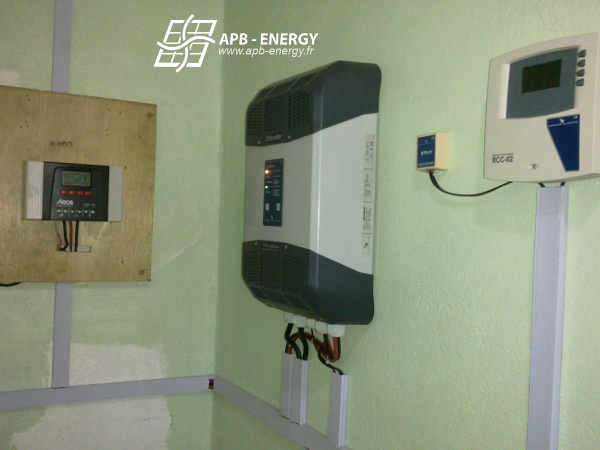 Installation solaire comores