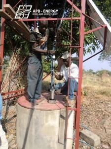eau potable site isolé
