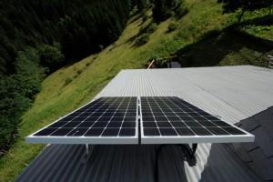 Panneau solaire toit