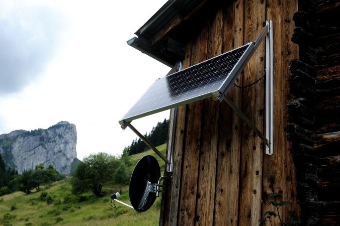 panneau solaire mural
