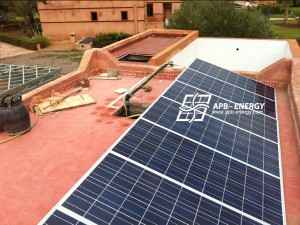 Système de pompage solaire