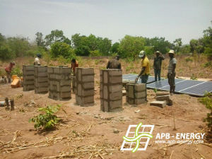 Pompage site isolé Bénin