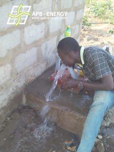 Alimentation eau autonome Bénin
