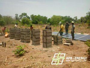 Pompage en site isolé Bénin