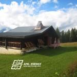 solaution solaire pour chalet d'alpage