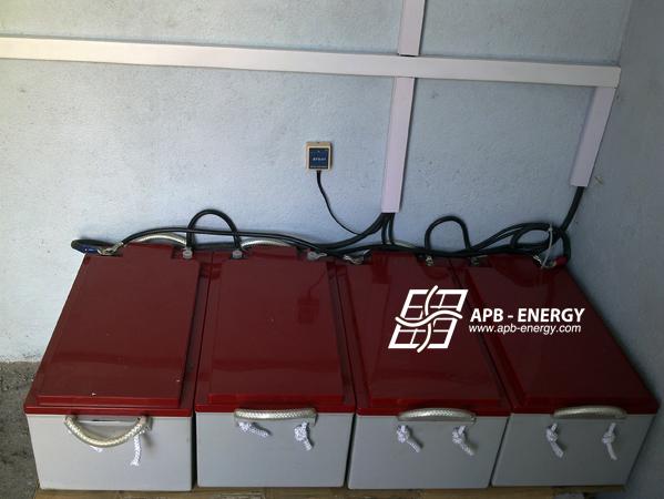 Parc batteries pour hôpital