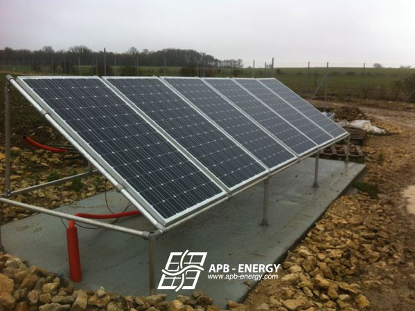 kit solaire pour élevage de poules