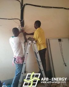 Installation solaire Burkina Faso