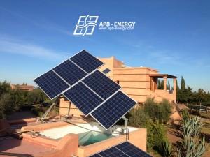 tracker solaire pour particulier