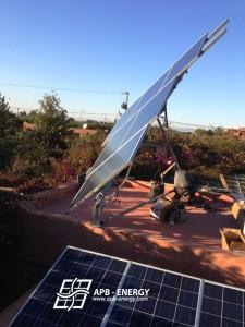 installation tracker solaire