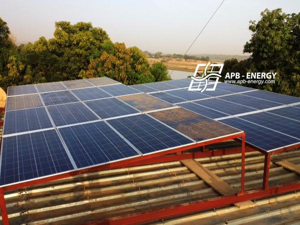 Niger panneaux solaires