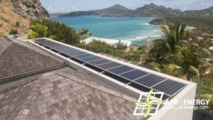 installation panneaux solaires caraibes