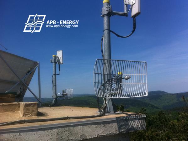 relais télécom autonome