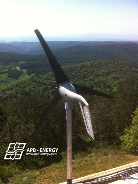 relais télécom éolien