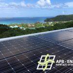 installation solaire St Barthélémy
