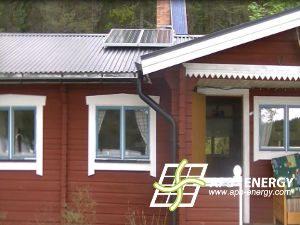Maison solaire Suède
