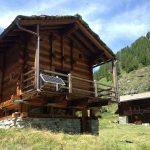 solaire sur chalet suisse