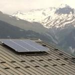 panneaux solaires pour chalet