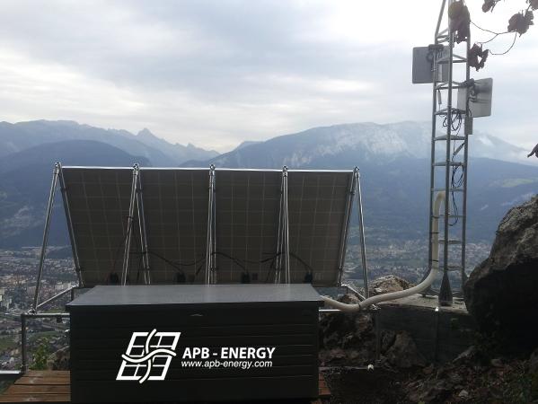 Kit solaire pour relais télécom