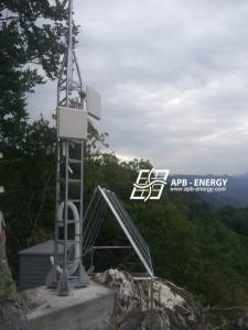 Relais télécom solaire