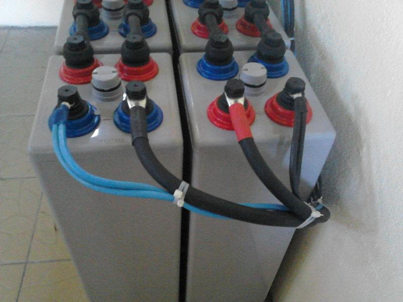 Batteries OPzV 30kWh