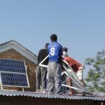 Montage panneaux solaire Madagascar