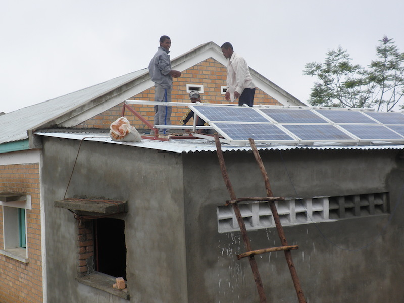 Installation panneaux solaire Madagascar