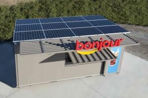 kiosque solaire