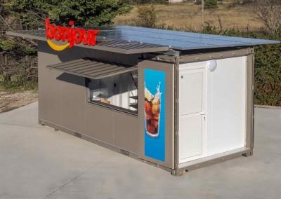 liosque solaire container