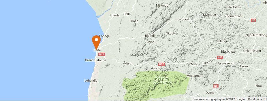 carte installation solaire kribi cameroun
