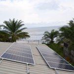 Panneau solaire pour pompage Lorentz à Kribi-Cameroun