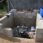 Pompe solaire à Kribi au Cameroun