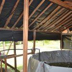Pompe solaire pour oxygénation bassin à Kribi-Cameroun