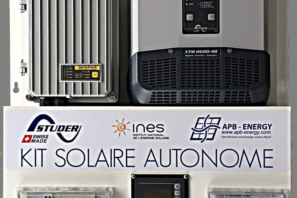 Un kit de formation site isolé pour l'INES, l'Institut National de l'Energie Solaire