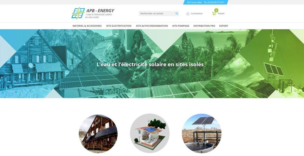 site web apb-energy.fr