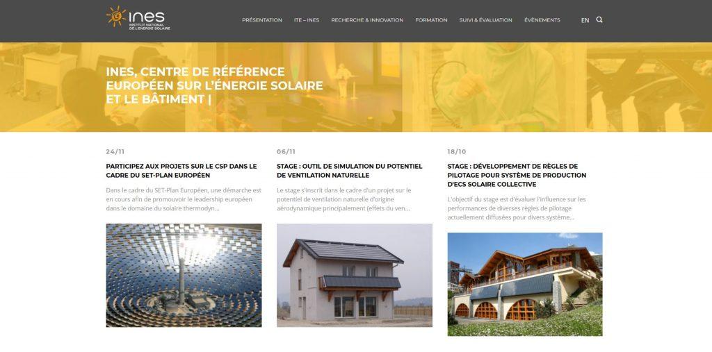 site web ines solaire