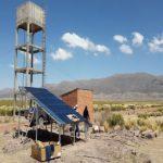 Pompage solaire site isolé