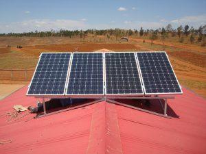 Panneau solaire Madagascar