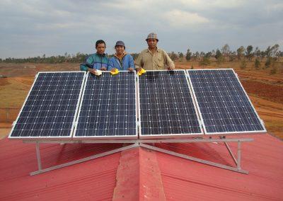 Panneaux solaires Madagascar