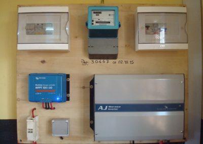 Materiel électrique fournit par APB Energy