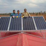 Panneaux solaire fournit par APB energy