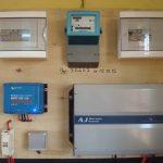 Installation électrique Lycée Tsarafaritra Madagascar