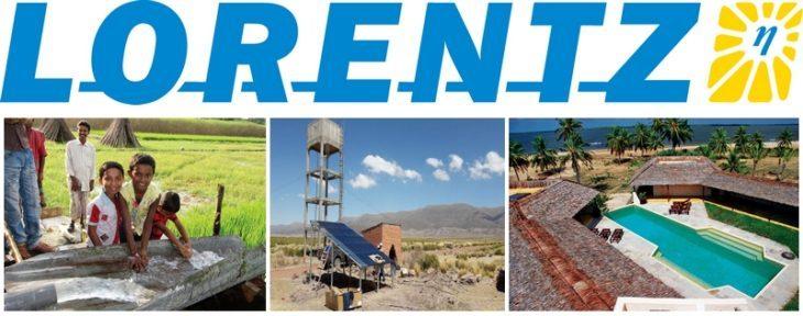 Notre partenaire Lorentz nommé leader mondial des pompes à eau solaires