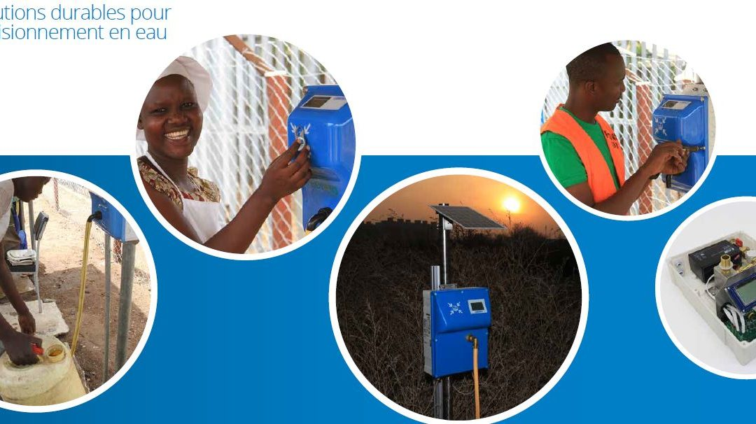 Innovation : borne fontaine en PAYG pour la distribution d'eau en milieu rural