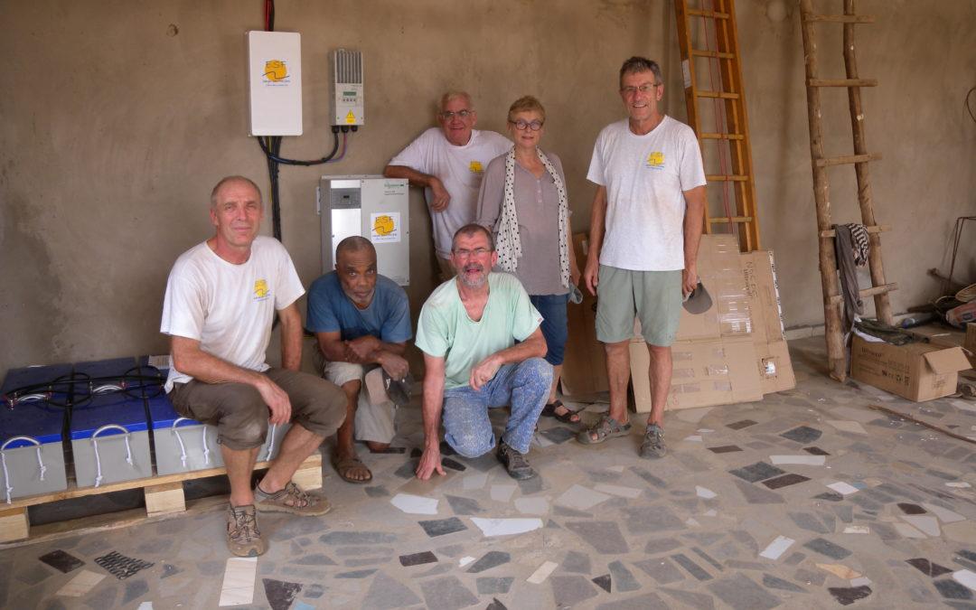 Accès à l'électricité à Noépé au Togo – Projet Energies Sans Frontières