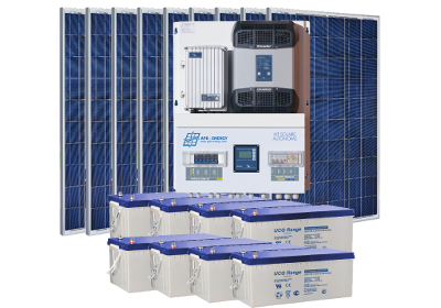 kit solaire backup delestage