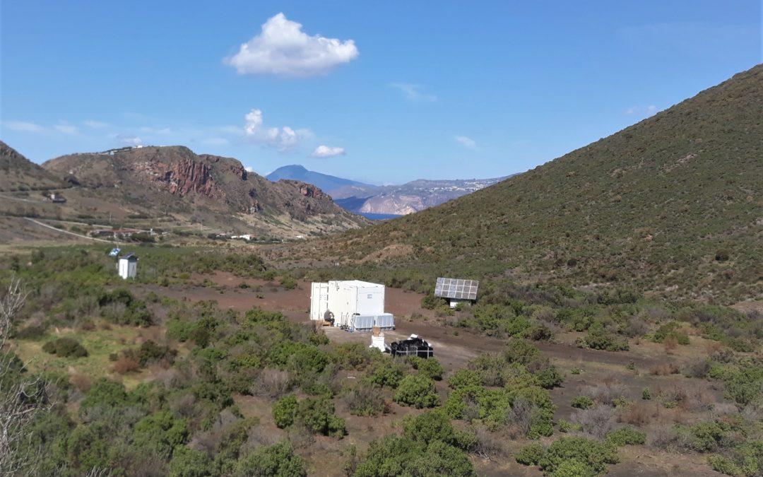 Installation solaire sur l'Île Vulcano en Sicile – Projet CNRS